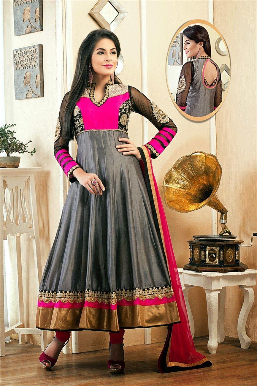 LIFESTYLE 350 Anarkali Dress Color Combination Ideas
