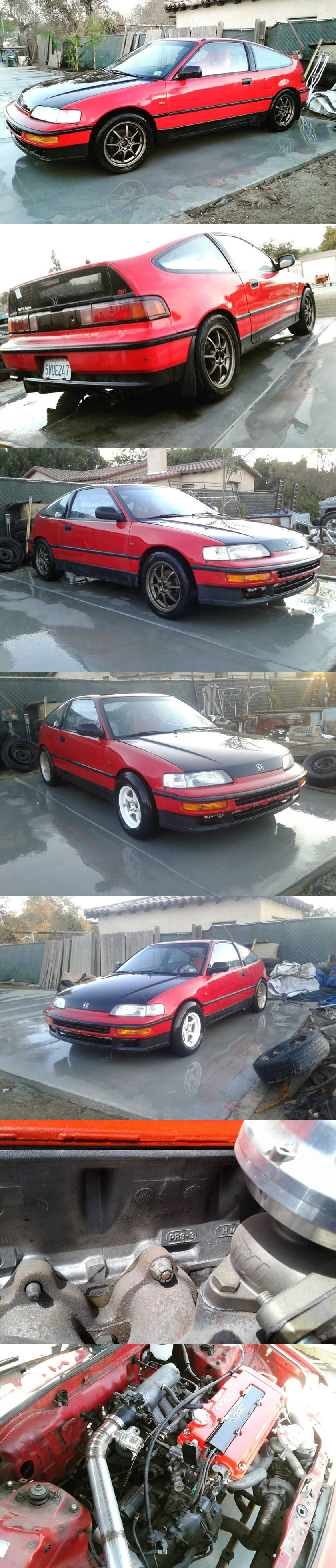 Weekly Craigslist Hidden Treasure: 1990 Honda CRX Si Turbo  How does