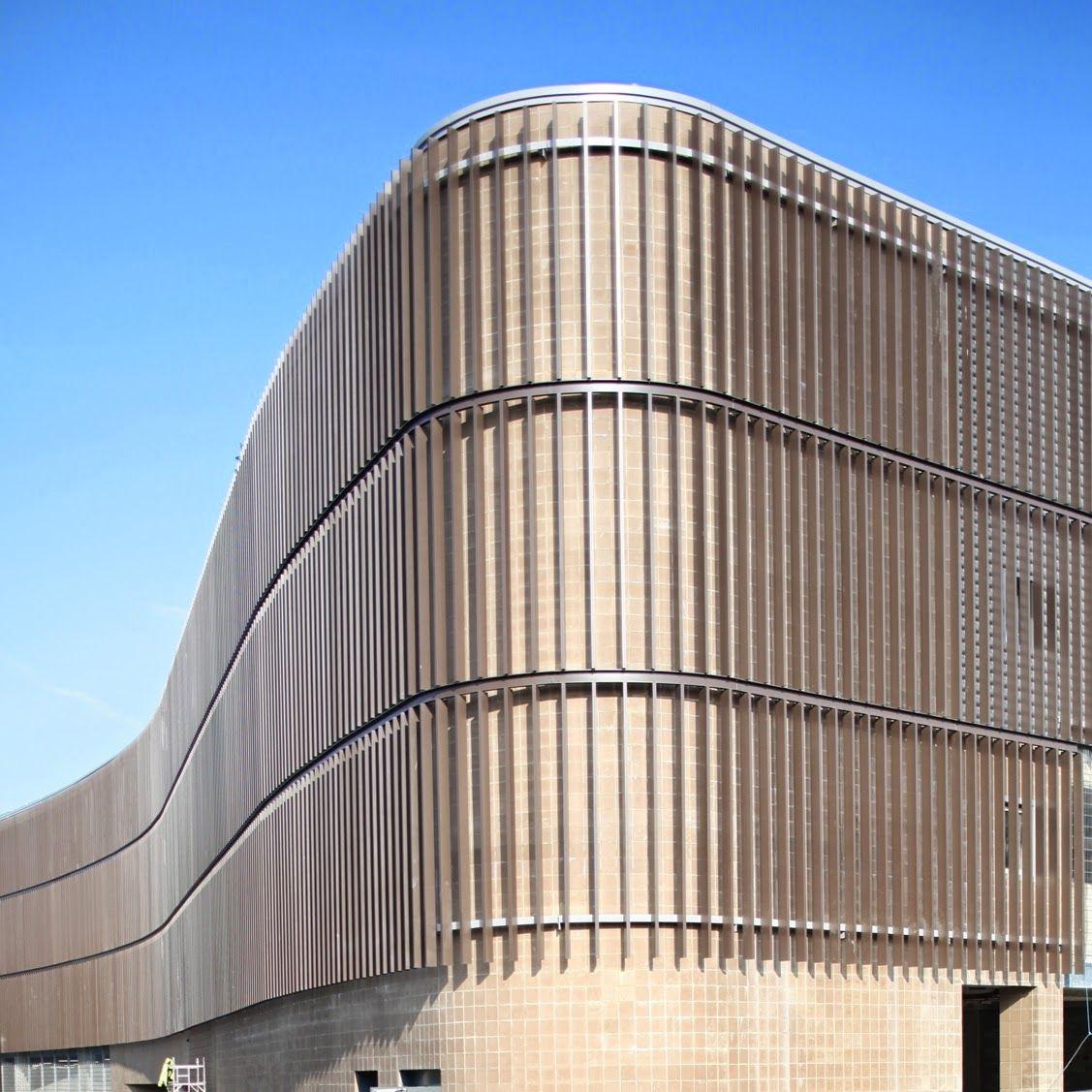 Levolux Solar Shading Creates Curves In Crawley