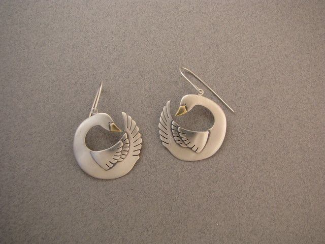 The Jewelry of Ahlene Welsh - Swans