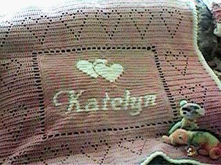 Personalized Baby Afghan Pattern By Kim Guzman Baby