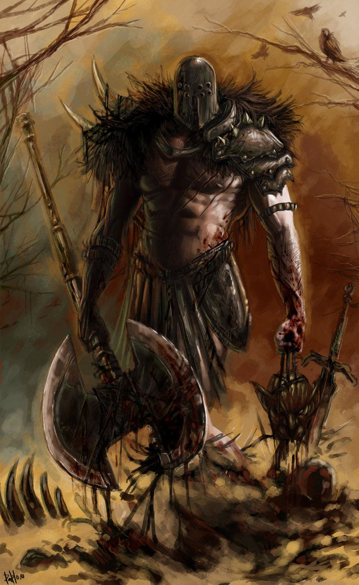 Fantasy Art Demon Slayer