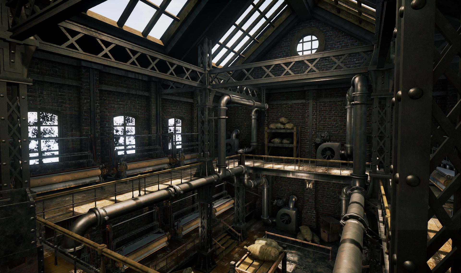 ArtStation - Textile Factory, George Malcov