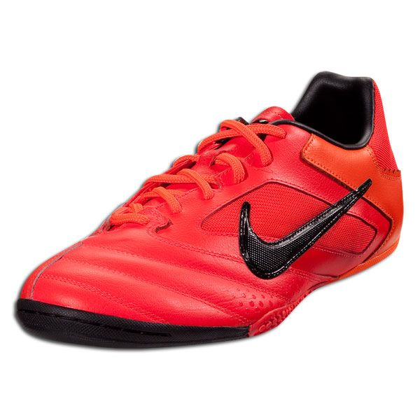 Nike Nike5 Elastico Pro - Bright Crimson/Black/Total Orange  Indoor Soccer Shoes.  New for Futsal!!