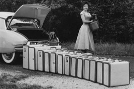 How many suitcases are too many?: Gina Lollobrigida, Born 1927