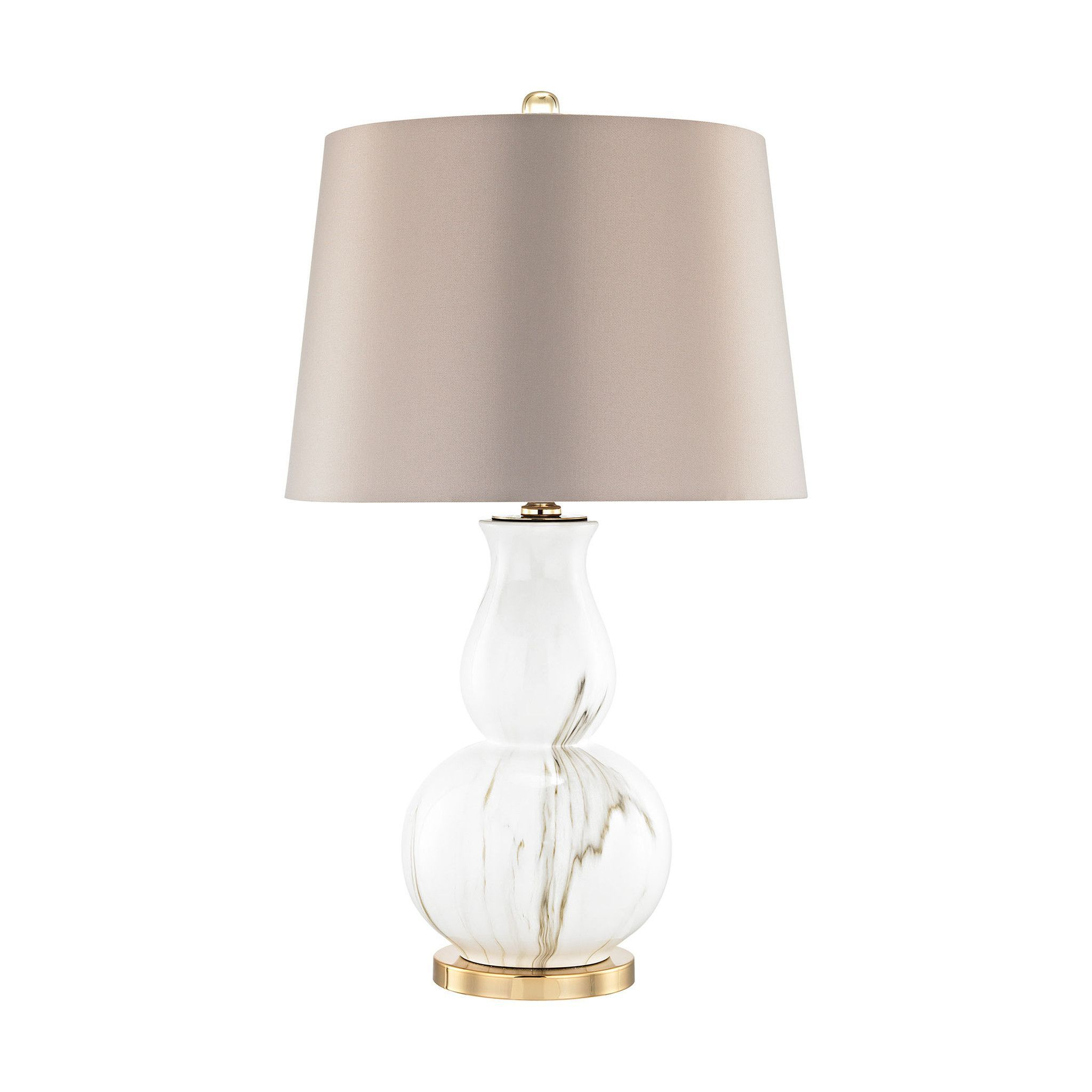 Vicenza table lamp goldwhite faux marble marbles bed room and vicenza table lamp goldwhite faux marble geotapseo Gallery