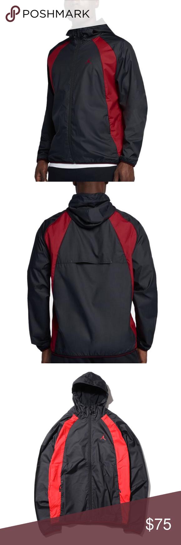 beca9765086017 Nike AIR JORDAN WINGS Windbreaker Men s Jacket The Jordan Sportswear Wings  Windbreaker Men s Jacket features a