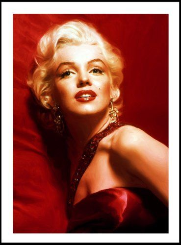 Amazon Com Marilyn Monroe Canvas Art Print Posters Prints