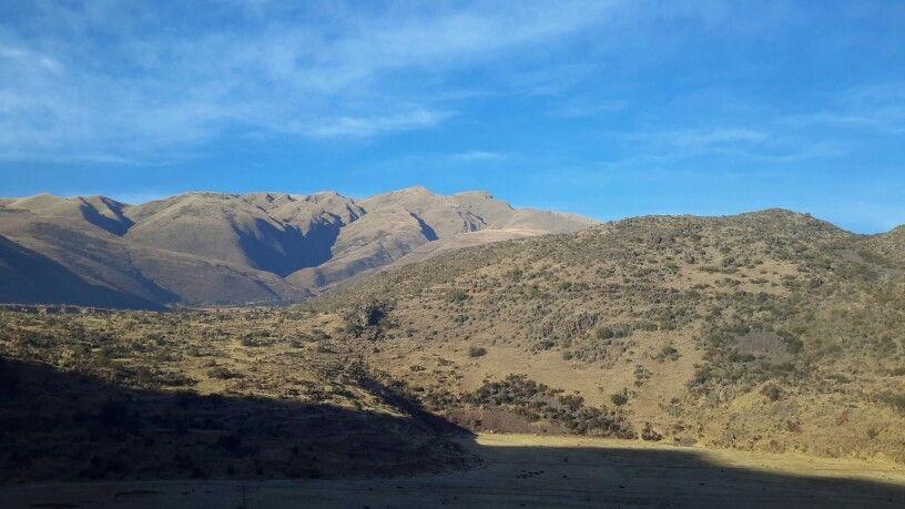 cadeia de montanhas Peru