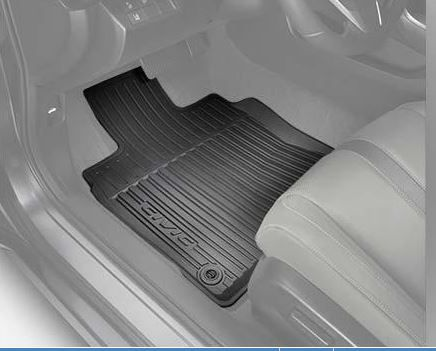 2016 Honda Civic 4 Door All Season Floor Mats High Side Black