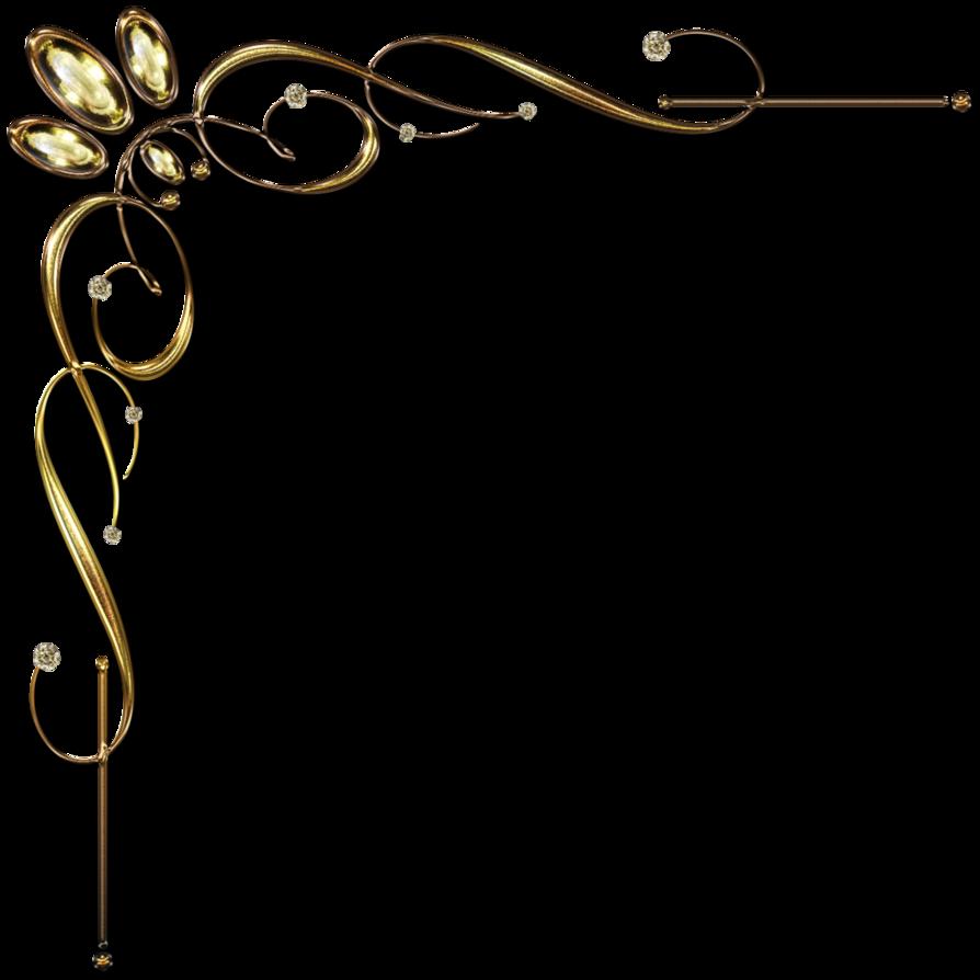 Golden Corner Ornament 1 By Lyotta Gold Throw Pillows Black Gold Throw Pillow Gold
