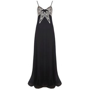 Mara Hoffman Georgette Embroidered Gown