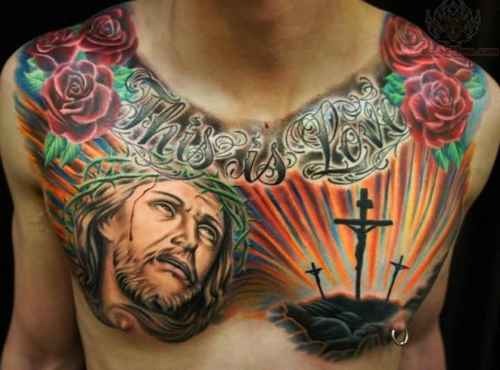 Religious tattoo for women google search tatoo for Religious chest tattoos