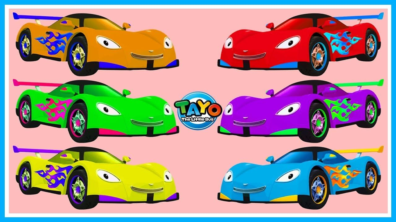 Learn Colors Leo The Little Bus Tayo