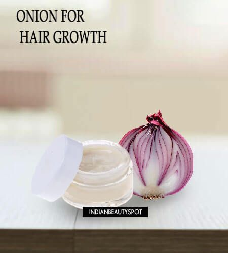 sing onion for the hair growth is completely safe and natural too. #GrowHair #HairRegrowth