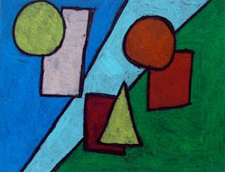 Art Projects For Kids Abstract Shape Drawing Art Projects