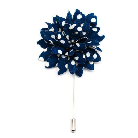 blue atom lapel flower king kravate men accessories accesorios