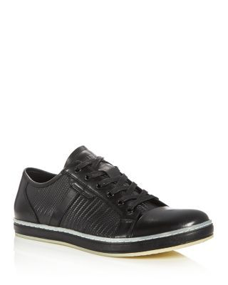 KENNETH COLE Brand Wagon Embossed Lace Up Sneakers. #kennethcole #shoes #sneakers