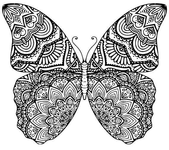 Imagen Relacionada Mandala Tiere Schmetterlingszeichnung Mandala Bilder