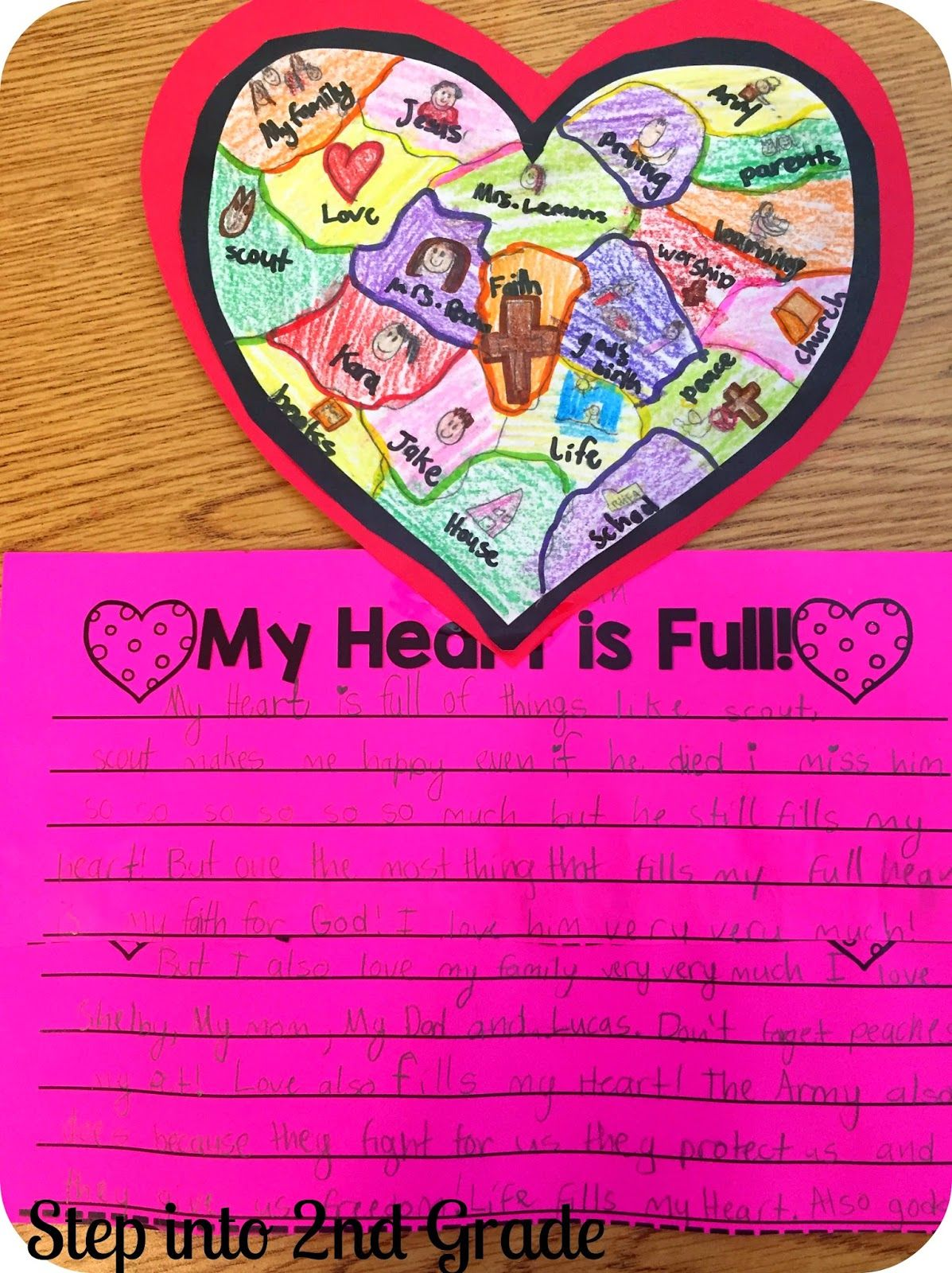 Valentine S Day Writing From Step Into 2nd Grade With Mrs