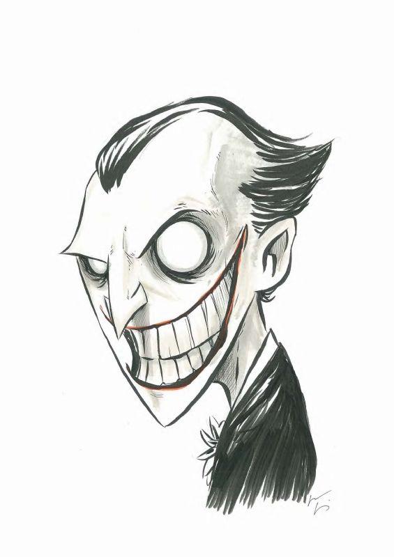 Joker by Chris Uminga | chibi & laufman | Pinterest | Dibujo ...