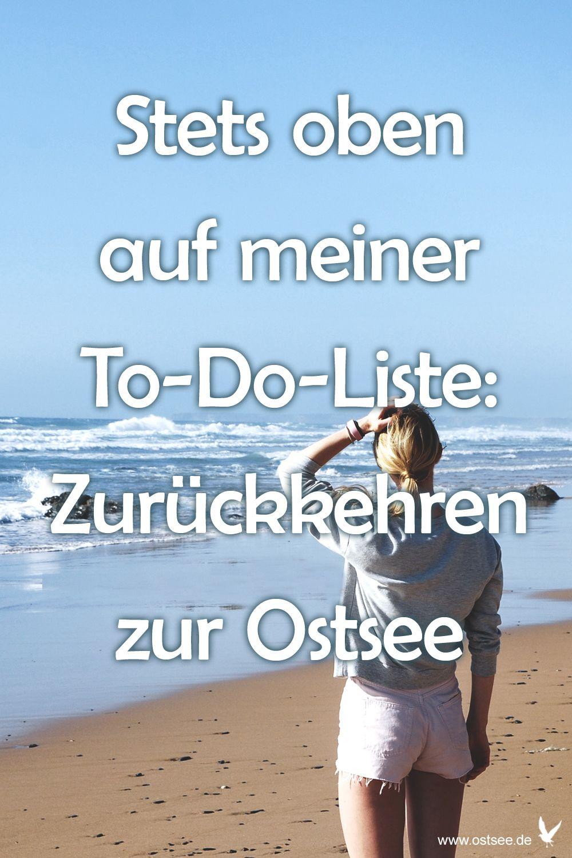 To Do Liste   Sprüche urlaub, Sprüche, Ostsee