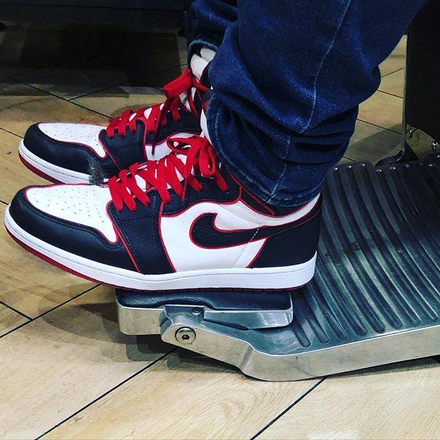 Air Jordan 1 Retro High Og Bloodline Sneakers In 2020 Air Jordans Nike Shoes Outfits Custom Nike Shoes