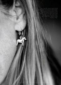Dala Horse Dangle Earrings