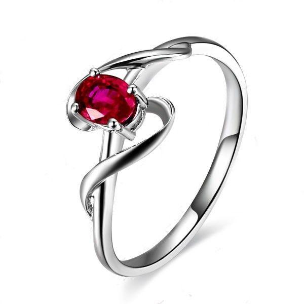 Pix For Ruby Engagement Rings Gold Wedding Pinterest