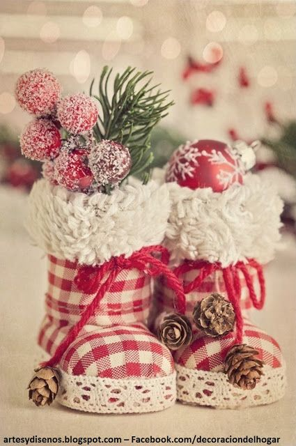 como hacer adornos navideos caseros by