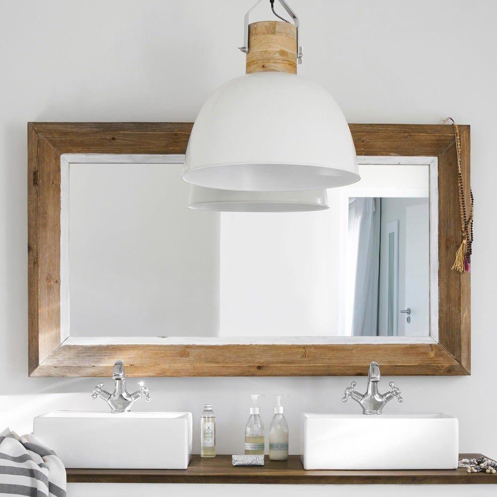 Pine Mirror 80x140 Maisons Du Monde Spiegel Holz Spiegel Badspiegel