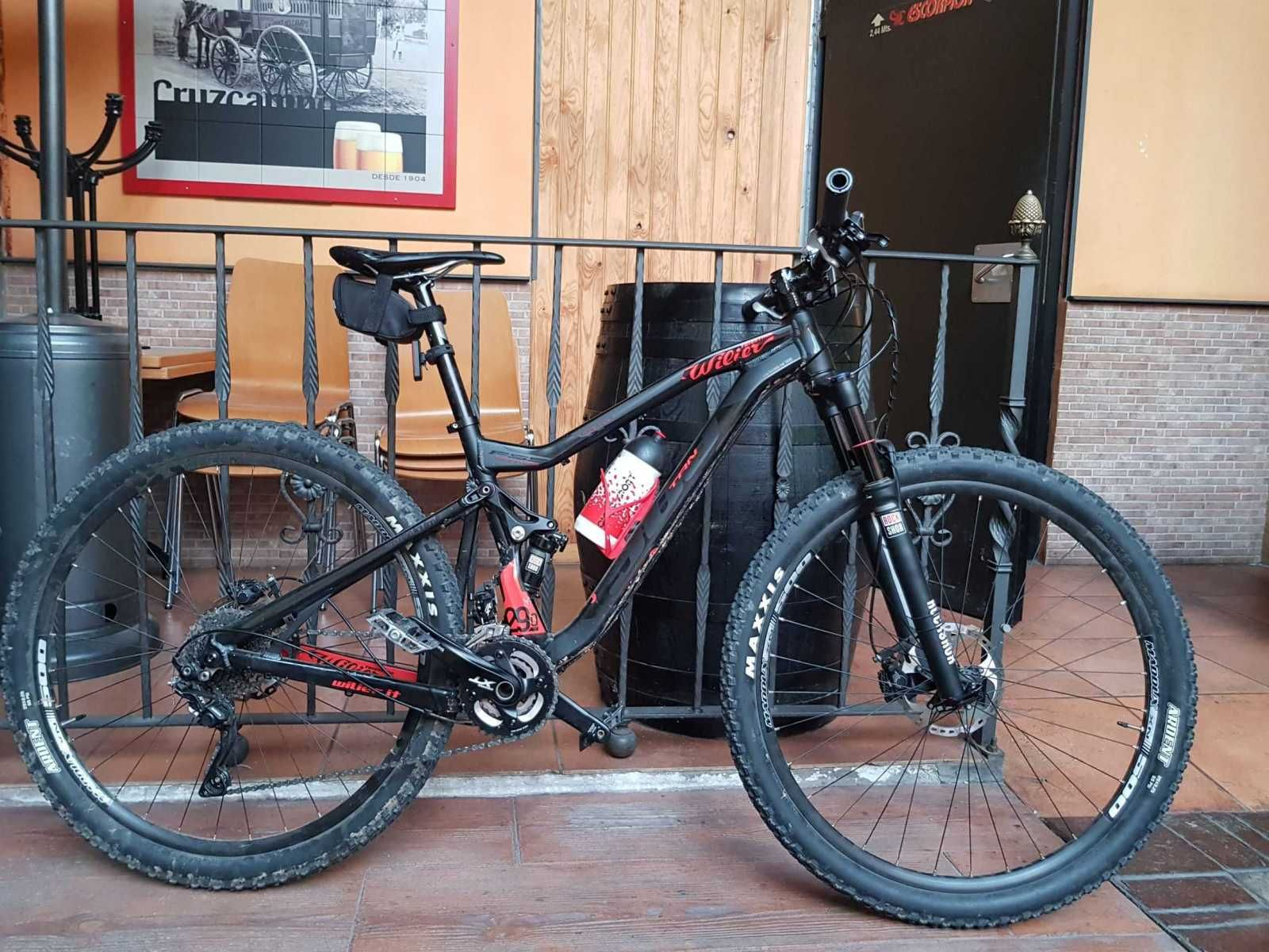 Bicicleta De Montaña Wilier Fs 903 Trn 29 Ref 45832 Talla M Año 2016 Cambio Shimano Deore Xt Cuadro De Alumini Bicicletas Bicicletas Mtb Cambios Shimano
