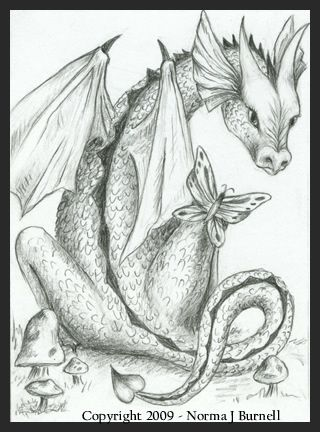 Dragon & Butterfly II | Coloring | Pinterest | Colores, Dragones and ...