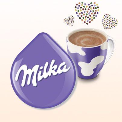 Milka Hot Chocolate Tassimo Tdisc Milka Hotchocolate