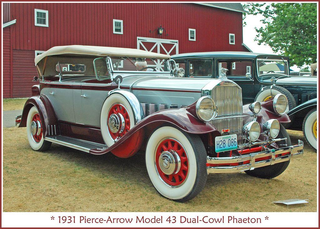 Nikola Tesla S Electric Car A 1931 Pierce Arrow Similar To The