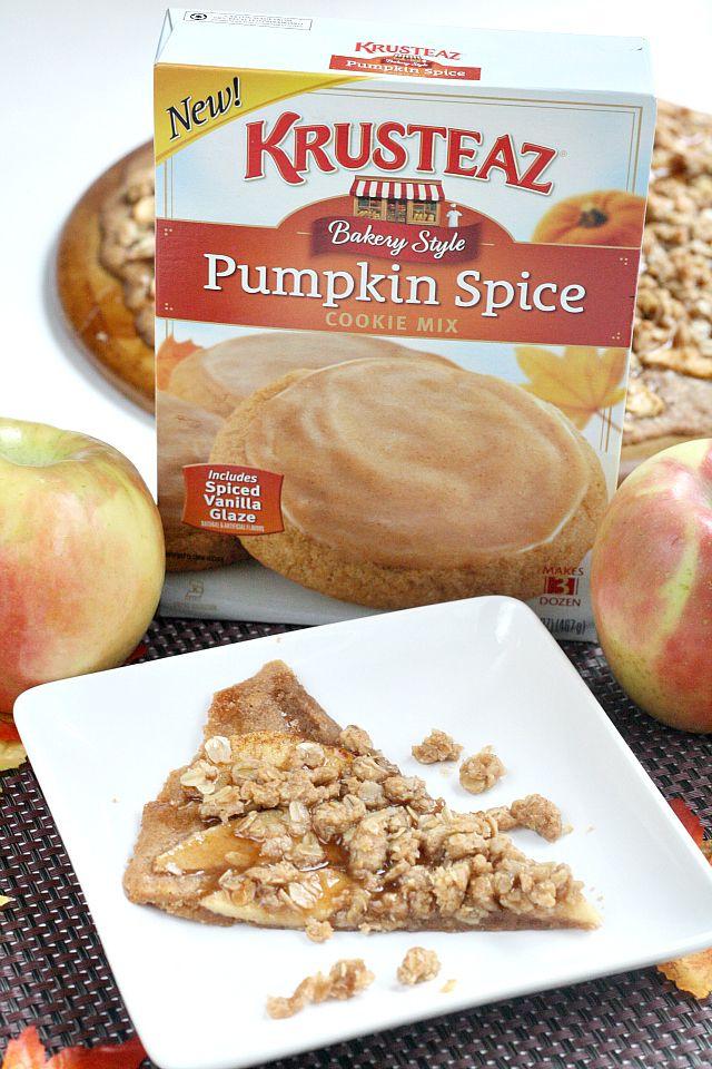 PUMPKIN APPLE DESSERT PIZZA Bakers13 Apple dessert
