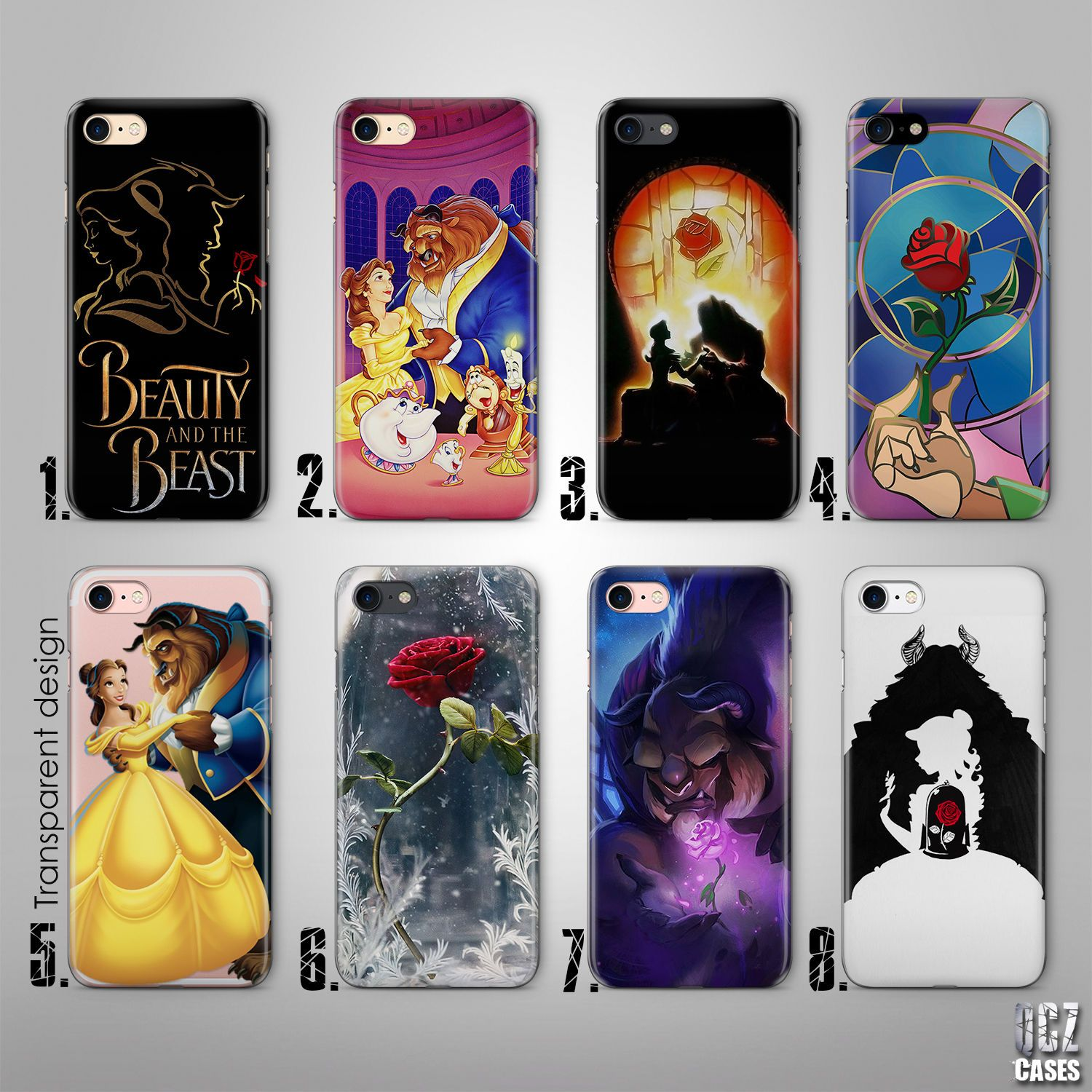 Beast Disney Cover Case for iPhone 6