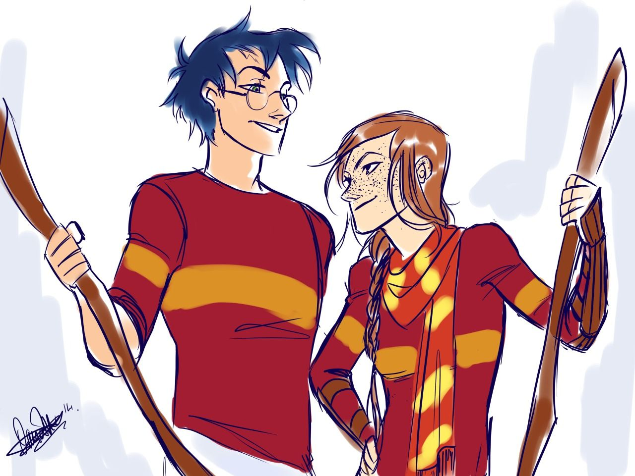 Harry And Ginny By Just-Cuz-Rivaldi  The Boy Who Lived -3877