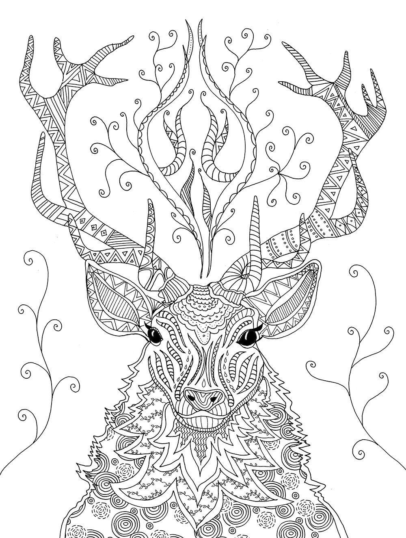 Ausmalbilder Mandala Tiere Basteln