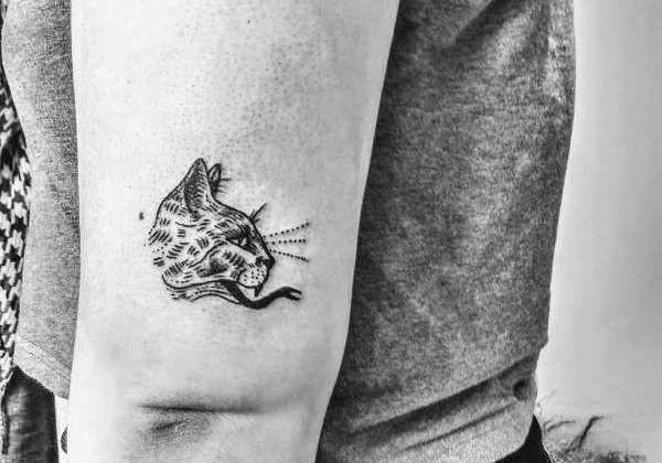 Tatuaż Kot Znaczenie Historia 50 Zdjęć Pomysł Na Tatuaż