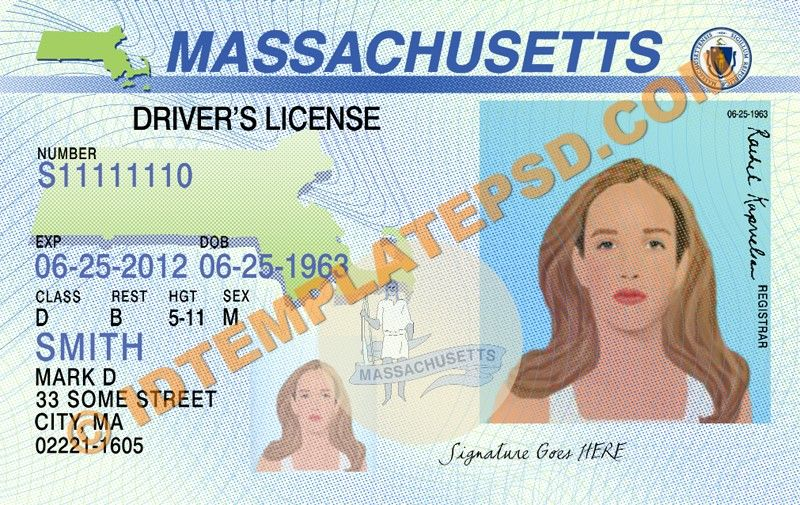 Template Drivers Is Driver You On Massachusetts Can Psd State This Novelty Usa Put… Template Templ… License photoshop usa