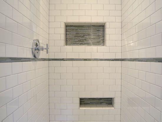 Shower Niche Gl Shelf Clic