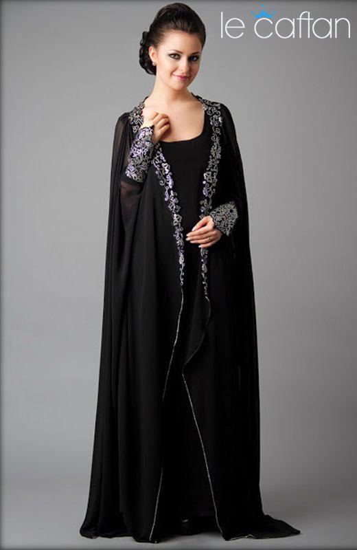Abaya Dubai de Luxe Simple & Elégante ~ LE CAFTAN : Boutique