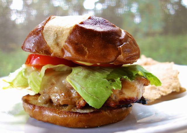 Creole Honey Mustard Chicken Sandwich | Plain Chicken