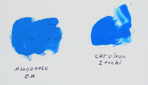 Manganese Blue Cerulean Blue With Images Color Color