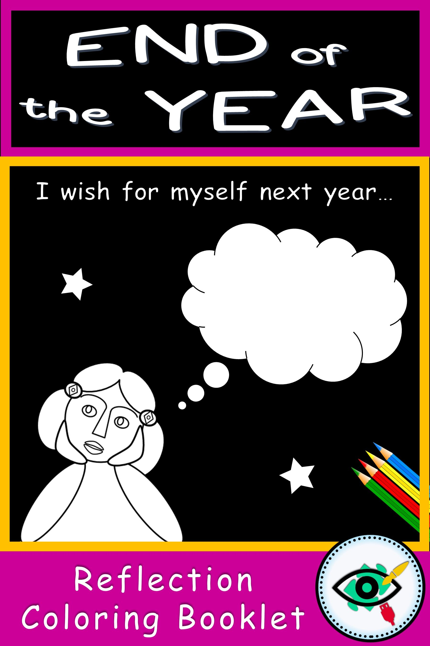 End Of Year Reflection Booklet English