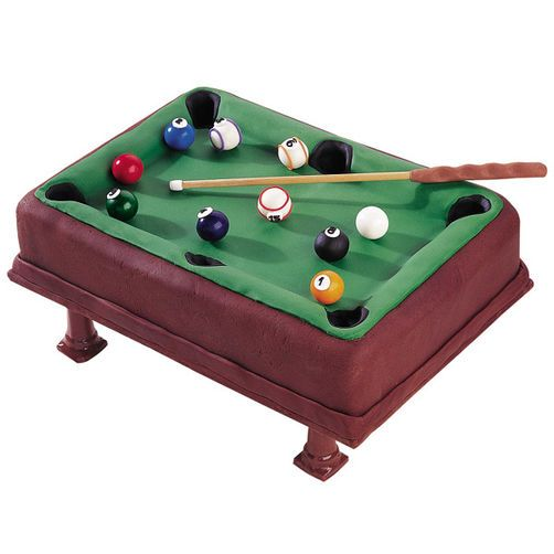 Pool Party Cake Pool Party Cakes Pool Table Cake And Cake - Used mini pool table