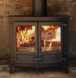 Two Door Wood Burning Stove Google Search Poele A Bois Bois