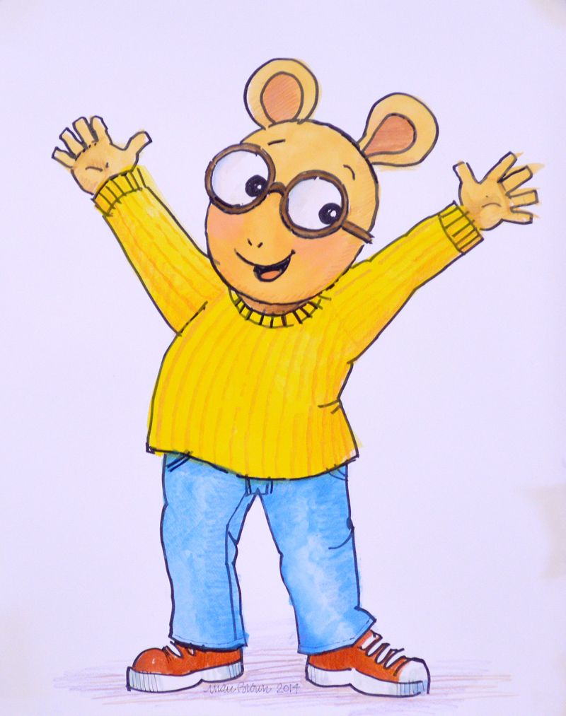 original illustration of arthur by marc brown available at the r