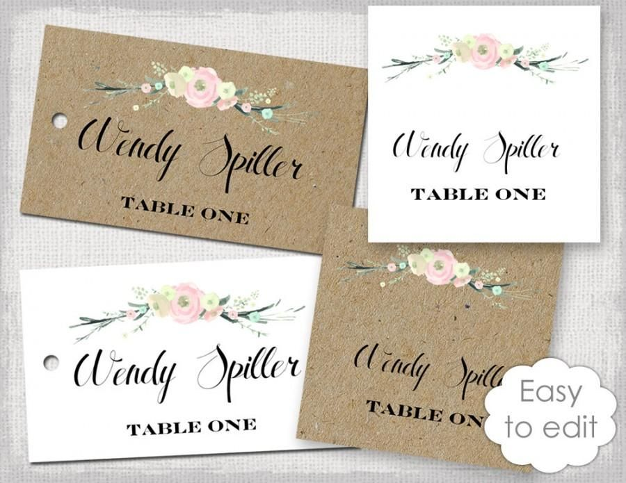 Pin By Zsuzsanna Gáll On Place Cards Pinterest Cards Diy Card - Wedding name tag template